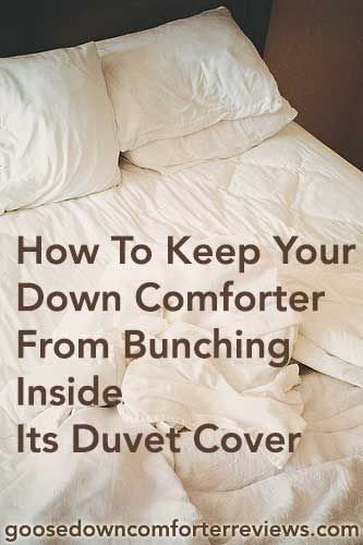 how-to-keep-comforter-from-bunching
