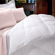 Cuddledown 600 Fill Power Striped Comforter Reviews