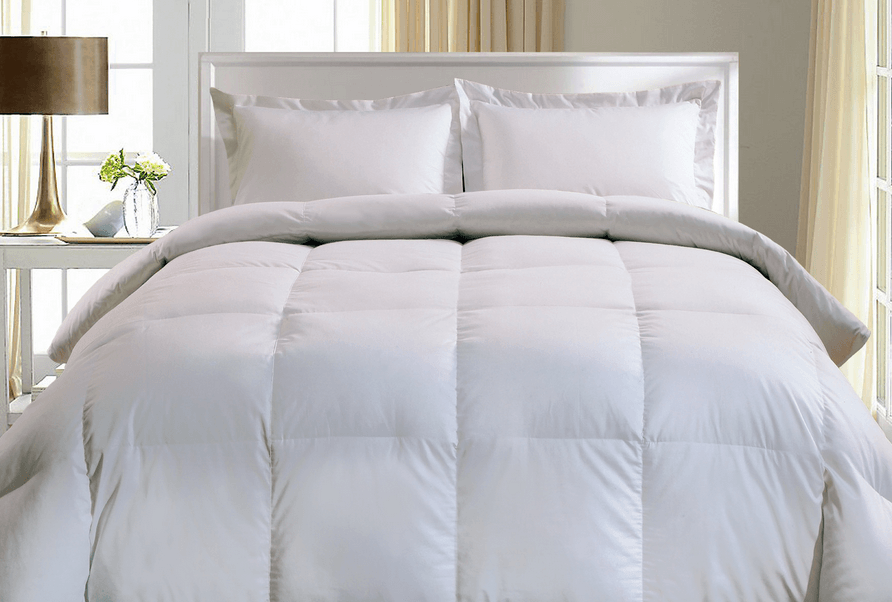 Blue Ridge Home Fashion 1000 TC European White Goose Down Comforter