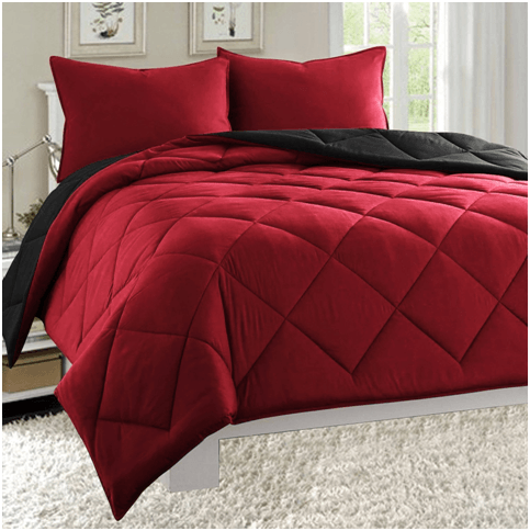solid in rosecose white insert down count tabs goose cotton size duvet kingwhite proof luxurious lightweight comforter king allergenic thread with power fill shell hypo shop