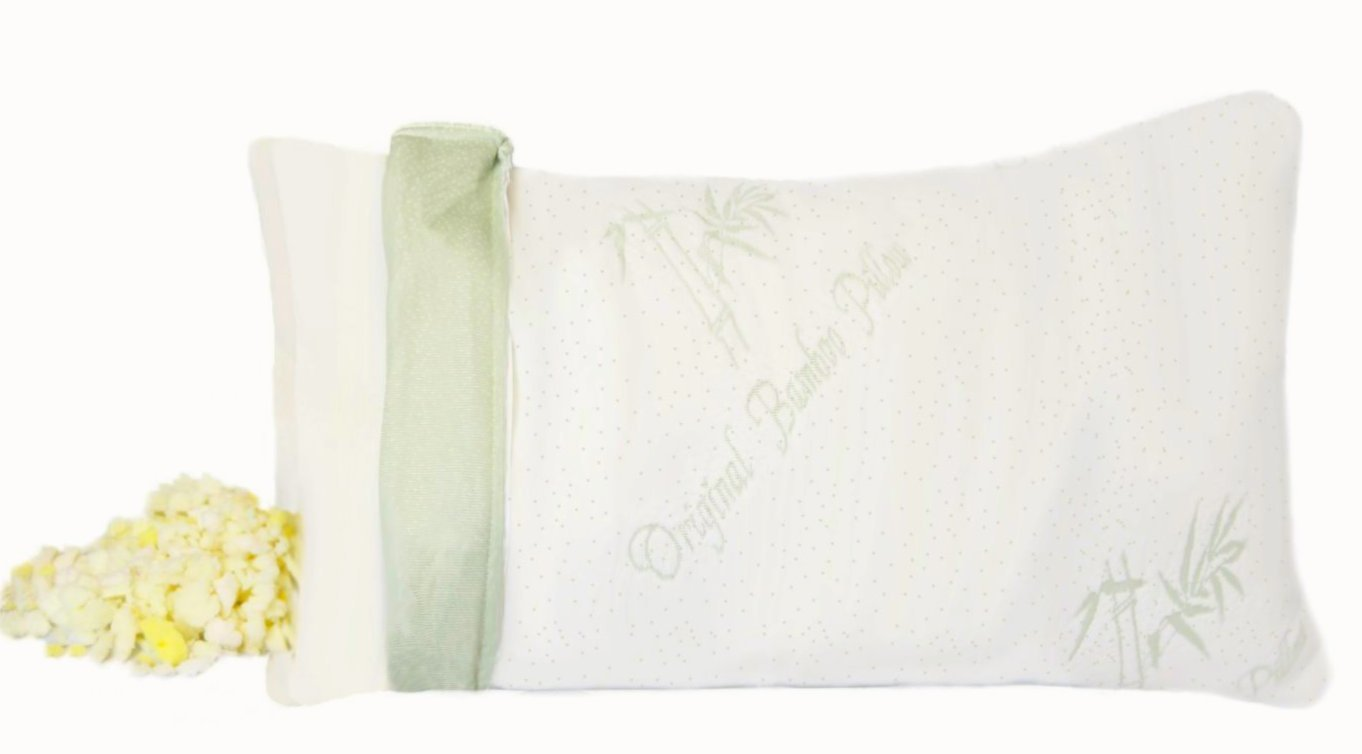 luxdream shredded memory foam body pillow bamboo fabric cove