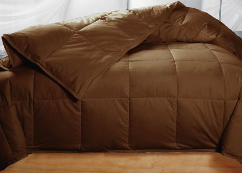 4 Cheap Brown Down Comforters Best Goose Down Comforter