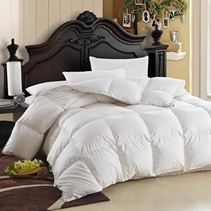 cal king down comforter. Egyptian Bedding Luxurious Cal King Size Siberian Goose Down Comforter Best Reviews