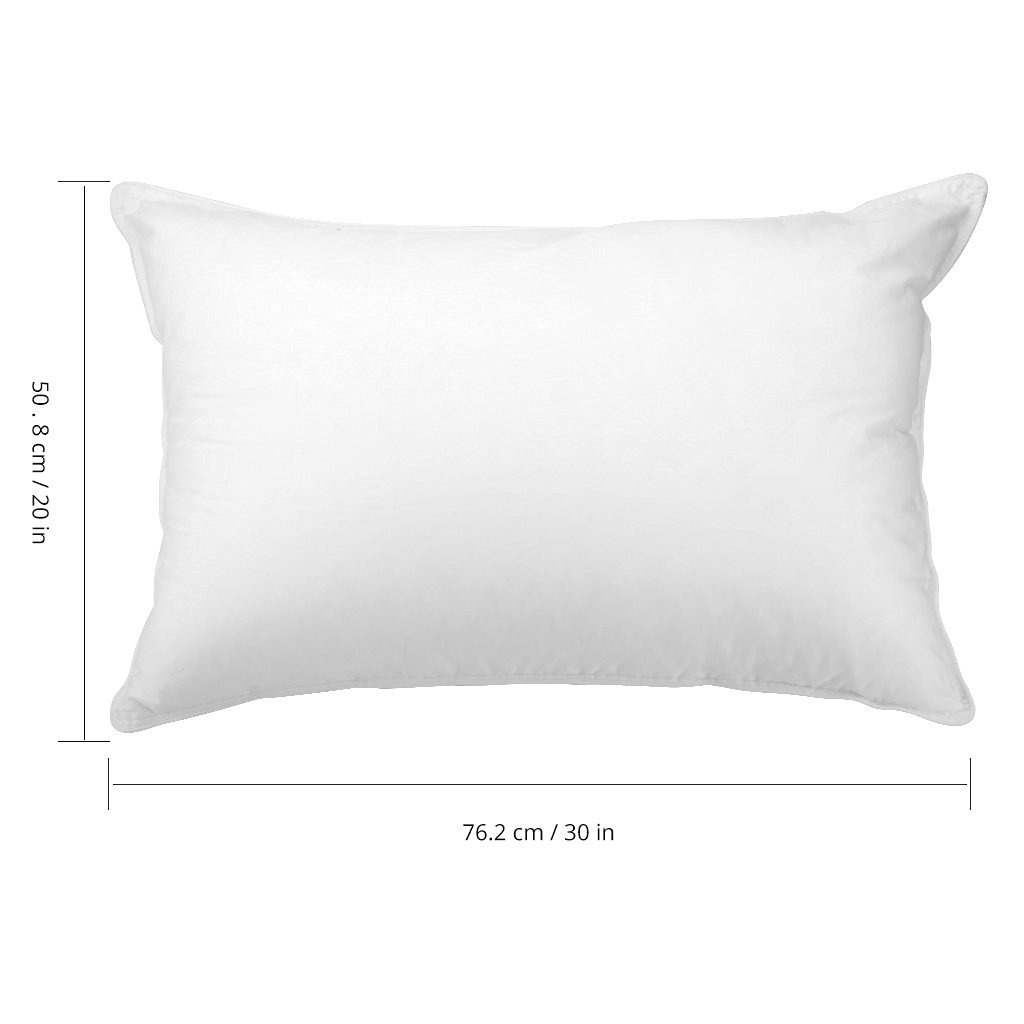 langria pack of 2 down alternative bed pillows