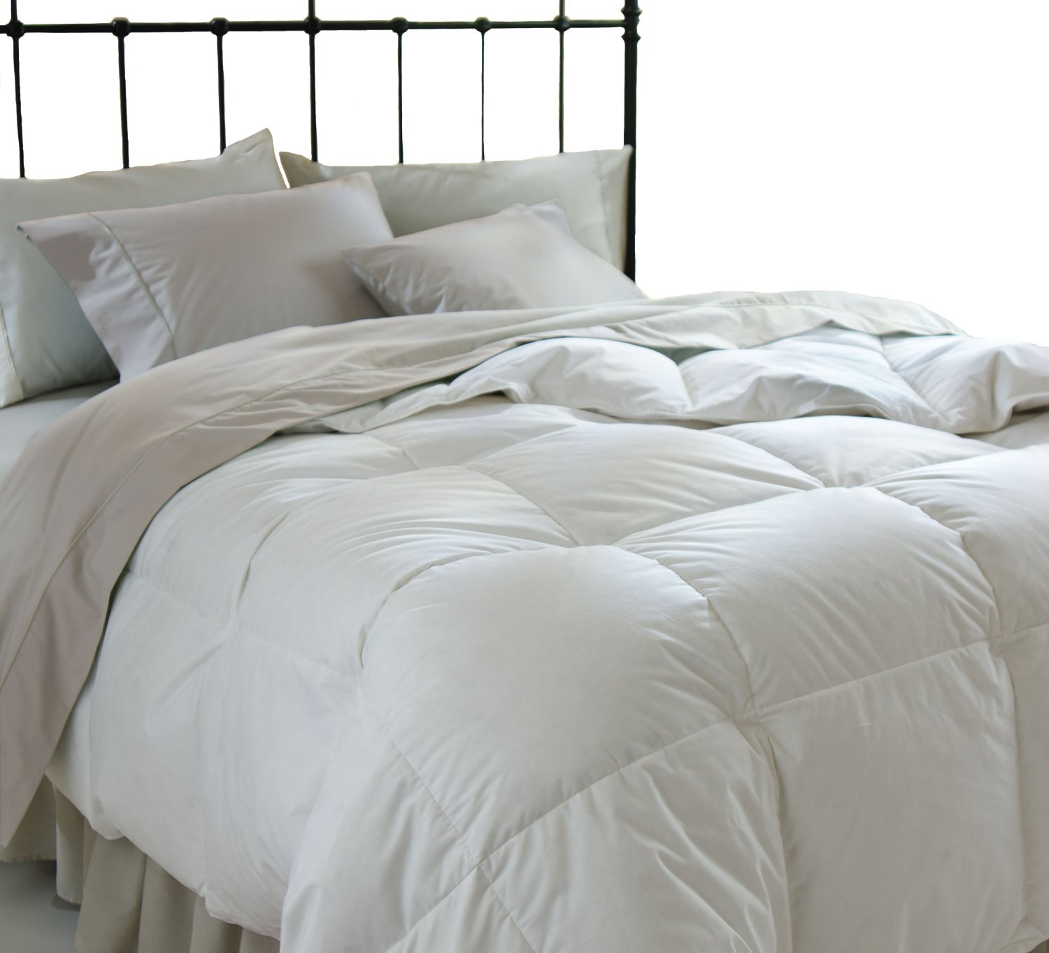 All season down alternative comforter by superior