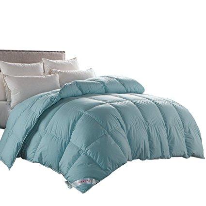 Good Snowman Luxurious 100% Goose Down Comforter