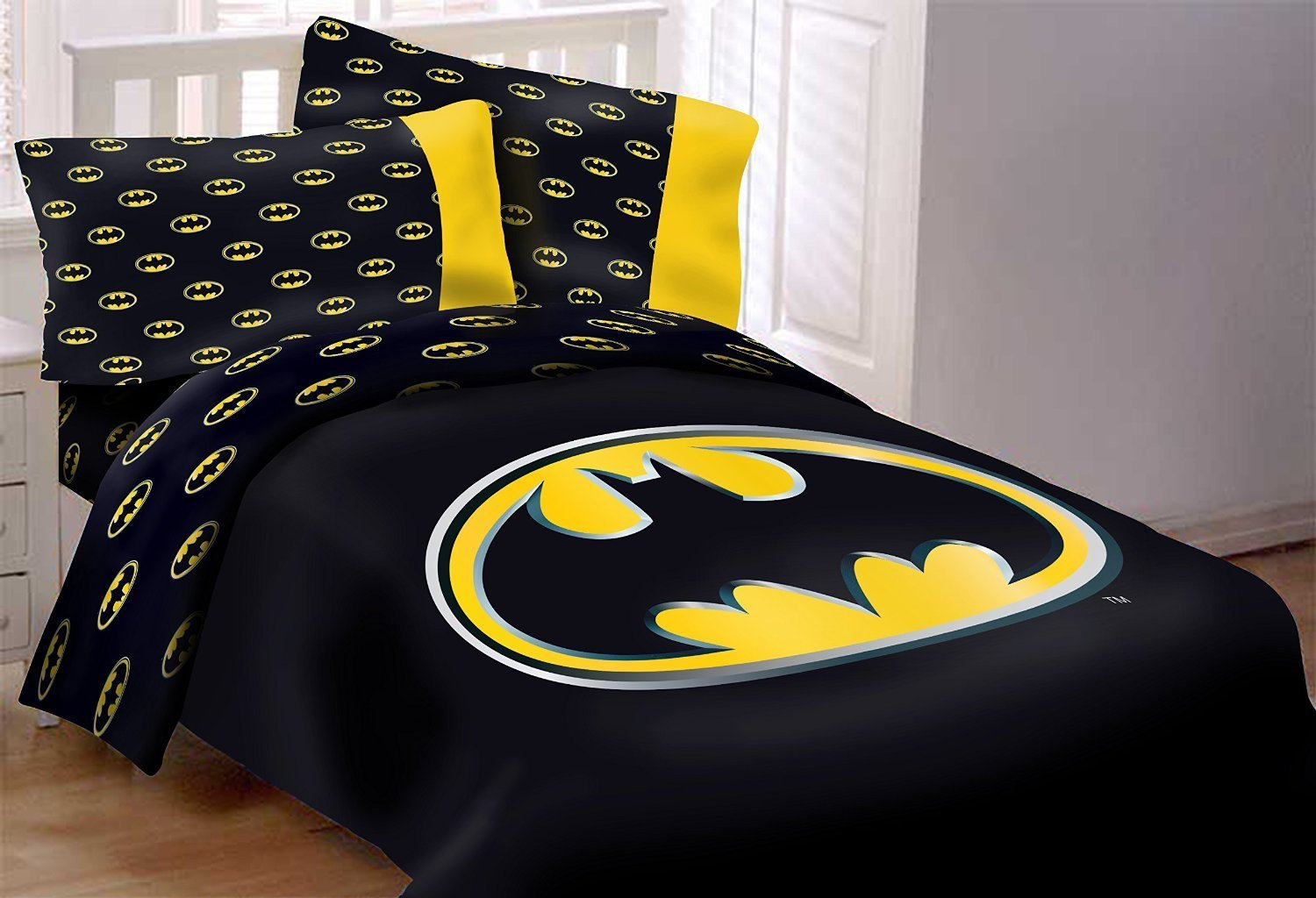 Batman bedding set 4Pcs for toddlers