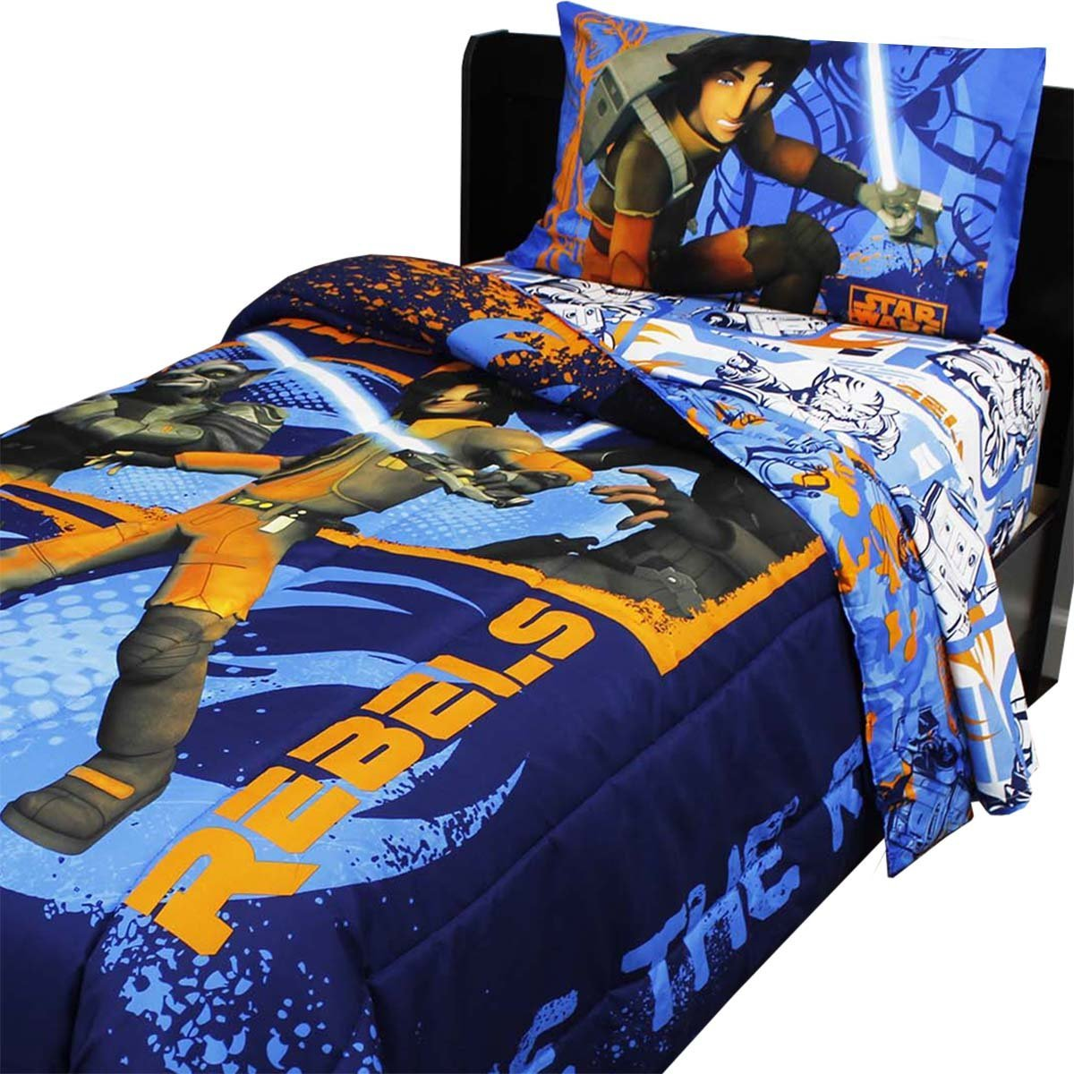 Star Wars Full Bedding Set Rebels Fight Comforter Sheets