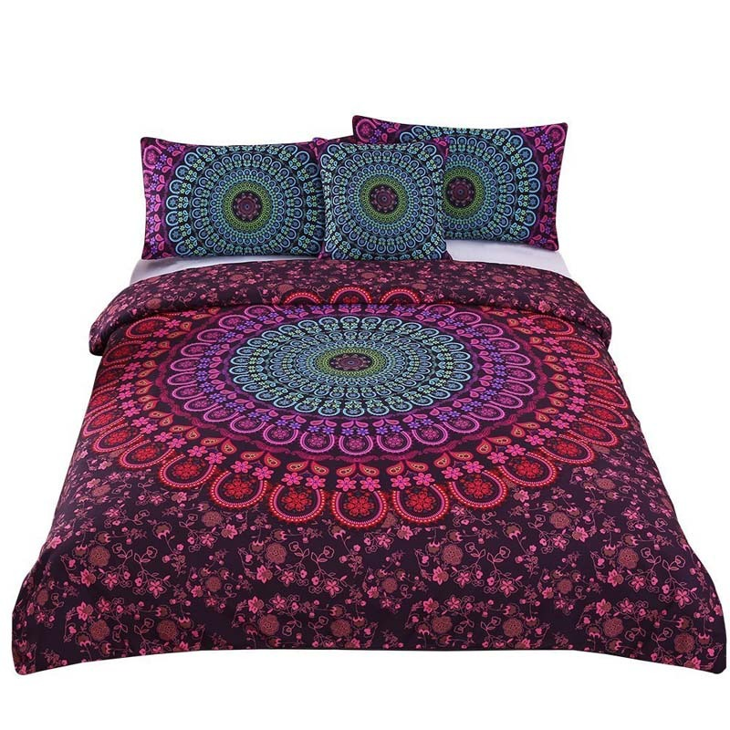 Sleepwish 4 Pcs Mandala Bedding