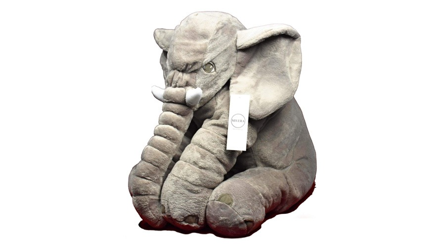 Mivera Cartoon Large Plush Elephant Toy