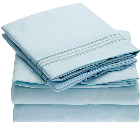 Mellanni Microfiber Bed Sheet Set